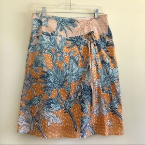 Anthropologie Tabitha Floral Skirt